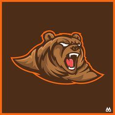Bear - Mascot Logo on Behance