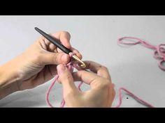 Ganchillo para zurdos: círculo mágico - YouTube