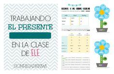 Clases de ELE A1-A2 / Presente de los verbos regulares / Spanish lessons GSCE Present /