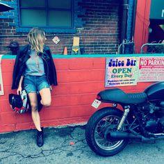 BIKER BABE | HOLLYWOOD HILLS  http://www.thatsecondlook.com/fashion/2016/1/26/biker-babe-hollywood-hills