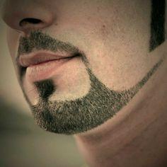 Beard trimmed