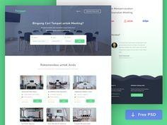 Panggon.com - Meeting Room Booking by Ahmad Nur Fawaid #Design Popular #Dribbble #shots