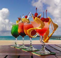 cocktail in spiaggia?! Aria d'estate