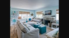 Beach family room Themed Rooms, Beach Room, Room Themes, Beach Themes, Family Room, Inspiration, Theme Bedrooms, Biblical Inspiration, Family Rooms