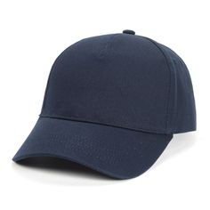 NAVY  Golf Ball Sports Cap Classic Baseball Hat Sun-shading Hats for Men and Women's Summer Sun Caps