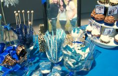 Graduation Candy Buffet Table