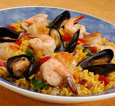 How to Make Red Lobster Seafood Paella
