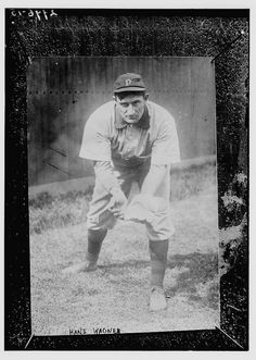 Honus Wagner, Pittsburgh NL,The Library of Congress collection