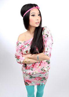"MEKO Minikleid ""POLLY_28Blume""  von meko® Store   auf DaWanda.com"