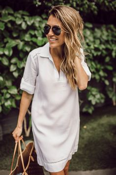 HelloFashionBlog: A Shirt Dress From Day To Night