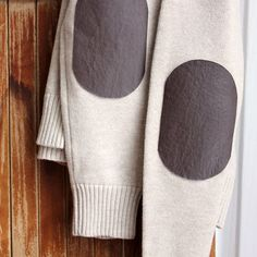 Add Elbow Patches to a Sweater | Spoonful
