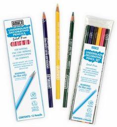 Ceramic & Pottery Tools & Supplies.  (underglaze pencils)  http://www.bigceramicstore.com