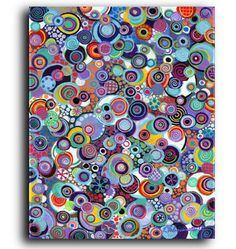 What Makes the World Go Round Contemporary Modern Abstract Art Prints and Gallery Canvas Reproductions