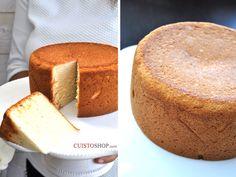 Marshmallow Cake     Moule utilisé15cm de diamètre Vous pouvez doubler les quantités pour un moule haut d'environ 20 cm de diamètre