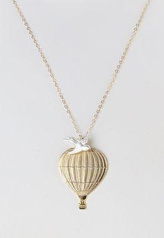 Gold & Silver Soar Pendant Necklace