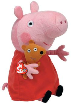 387082381fd Peppa Large  Peluche de Peppa Pig Peppa Pig Teddy