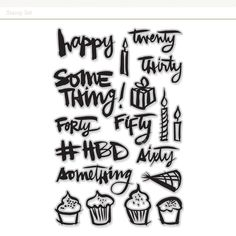 Celebrate a Happy Anything with this stamp set by Kal Barteski, featuring her gorgeous signature script. Art Inspiration Drawing, Graphic Design Inspiration, Design Art Drawing, Happy A, Studio Calico, Creative Activities, Sculpture Art, Art Photography, Branding Design