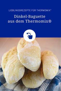 Einfach lecker: Dinkel-Baguette – Rezept für den Thermomix®
