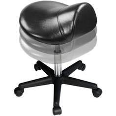 Master Massage Ergonomic Swivel Saddle Stool, Posture Chair with a Durable Pneumatic Hydraulic Lift (Rich Coffee Color) Massage Table, Massage Chair, Massage Therapy Rooms, Saddle Chair, Rolling Chair, Professional Massage, Adjustable Stool, Massage Benefits, Black Friday