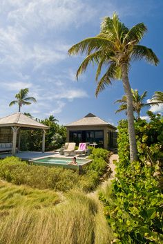 Exterior of Turtle Beach Bungalow #ChristopheHarbour #StKitts #Caribbean www.christopheharbour.com Turtle Beach, Beach Bungalows, St Kitts, Caribbean, Exterior, Mansions, House Styles, Home Decor, Decoration Home