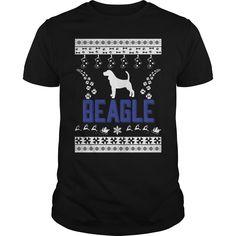 Merry christmas beagle