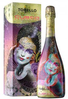 TORELLO_by_CUSTO #wine #label www.prettywines.com