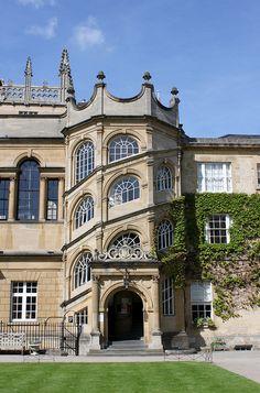 The Jackson Staircase: Hertford College, Oxford