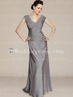 Stunning Elegant V Neck Special Guests Dresses with Lace MO
