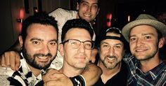 Justin Timberlake se reúne com ex-colegas do 'NSync em festa; veja