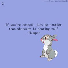 If you're scared, just be scarier than whatever it is that is scaring you. #martialarts will help with that - quantummartialarts.com.au