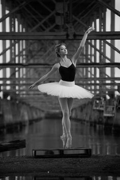 Ballet - under the bridge. #ballet #ballerina #photography #pointeshoes #dance #dancer #blackandwhite