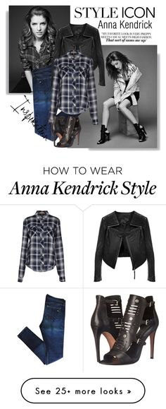 """""""Style icon: Anna Kendrick"""" by danielle-broekhuizen on Polyvore featuring rag & bone, Linea Pelle, Michael Kors, Rebecca Minkoff, GetTheLook, casual, CelebrityStyle, annakendrick and styleicon"""