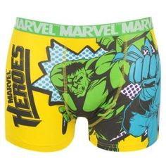 HULK SINGLE BOXER SHORTS GIALLO