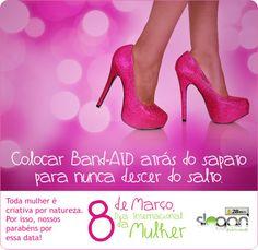 Anúncio para Redes Sociais - Dia da Mulher - Slogan.
