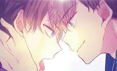 Osomatsu-san- Karamatsu and Ichimatsu Manhwa Manga, Manga Anime, Yolo, Osomatsu San Doujinshi, Most Beautiful Images, Happy Tree Friends, Ichimatsu, Tsundere, Gay Art
