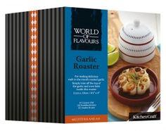 World of Flavours Mediterranean Ceramic Garlic Roaster