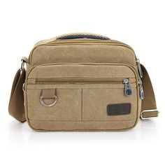 New Men Messenger Bags Casual Multifunction Small Travel Bags  Canvas Shoulder Crossbody Bags Black Wholesale #>=#>=#>=#>=#> Click on the pin to check out discount price, color, size, shipping, etc. Save and like it!