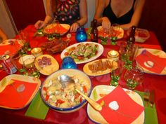 Cena con amigas