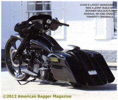 Freakin awesome!! Harley Bagger Magazine | custom harley american bagger