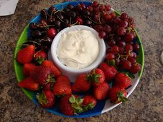 Marshmallow Fluff Fruit Dip    Beat softened 1-8 ounce package cream cheese; Add 1-7 ounce jar marshmallow creme (fluff) & 1/2 teaspoon vanilla; beat until fluffy.