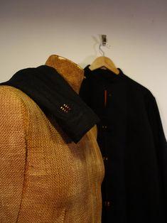 """pánská lněná košile \""""paralelka\"""" černý len Jitka Kellerová Backpacks, Bags, Fashion, Handbags, Moda, Fashion Styles, Backpack, Fashion Illustrations, Backpacker"""