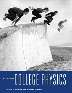 "Essential College Physics, Volume 2 by Andrew Rex. Save 9 Off!. $77.99. Publication: November 6, 2009. Edition - 1. Publisher: Addison-Wesley; 1 edition (November 6, 2009). New Paperback 1st Edition(as shown)""	 Essential College Physics, Volume 2""clean pages,minor shelf wear,Fast shipping........(A-2)                                                         Show more                               Show less"