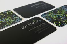 Emisiva business cards - Business Cards - Creattica