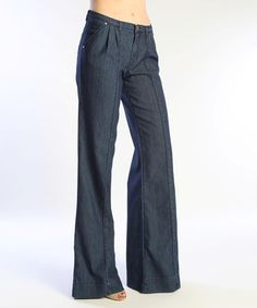 Take a look at this Truck Jeans Heartwell Wide-Leg by Truck Jeans on #zulily today!