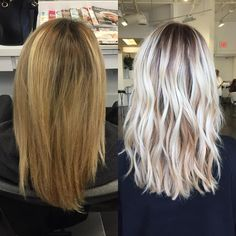 "3,402 Likes, 135 Comments - Blonde and Balayage Specialist (@colorbyashley) on Instagram: ""Before and After! ✨ #ColorByAshley haircut by @jenniehairartist"""