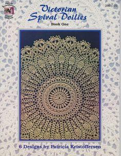 Victorian Spiral Doilies- copyrighted Patricia Kristoffersen 2001