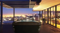 Genuine Jacuzzi Hot Tubs from Award winning Jacuzzi hot tub retailer. Hot Tubs, Swim Spas, Hot Tub Chemicals, Accessories and Parts. Spas, Jacuzzi Hot Tub, Walk In Bathtub, Mini Pool, Malibu Homes, Outdoor Furniture Design, Whirlpool Bathtub, Light Architecture, Luxury Bath
