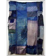 Sale DIY Repair Indigo Cotton Boro Futon Cover
