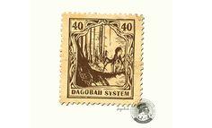 映画『スター・ウォーズ』シリーズの世界で使われている(という設定の)切手シリーズが制作された。