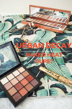 Dupe for the new Urban Decay Naked Heat Palette - Cherries in the Snow Beauty Blog